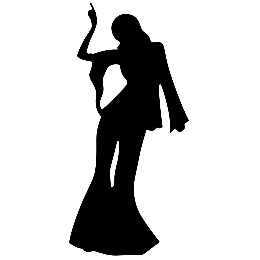 1000x1000 Huge Collection Of 'disco Silhouette Clip Art' Download More Than