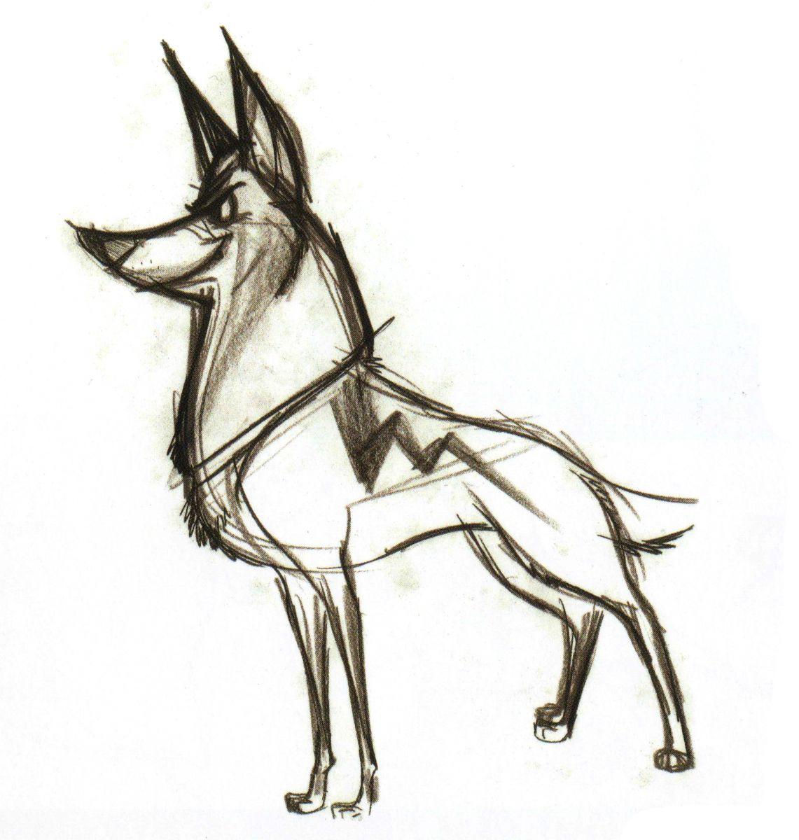 1141x1200 Bolt Concept Art
