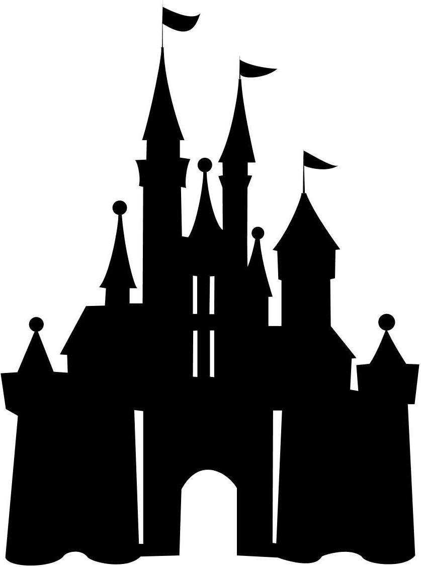 837x1125 Disney Castle Logo
