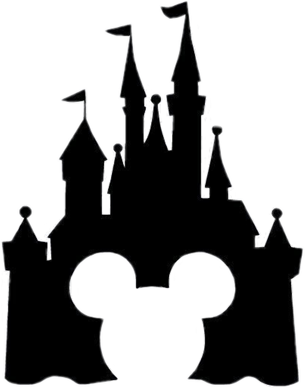 1024x1304 Disney Castle Silhouette Download Free Clipart With A Transparent