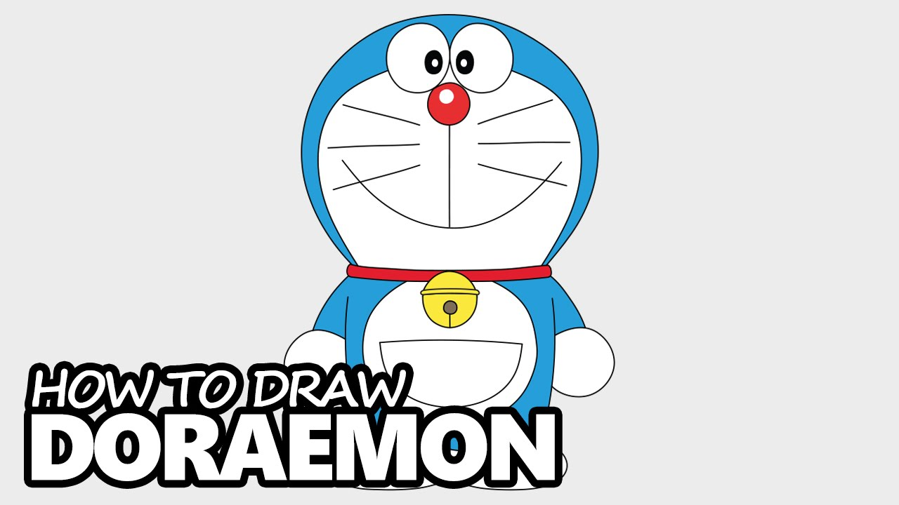 1280x720 How To Draw Doraemon