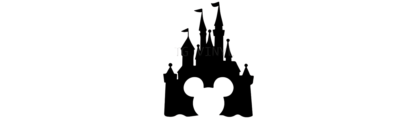 1443x414 Collection Of 'disney Castle Silhouette' Download More Than