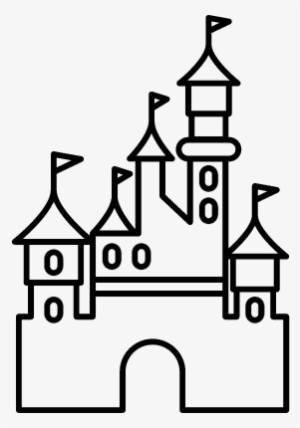 300x428 Disneyland Castle Drawing Easy