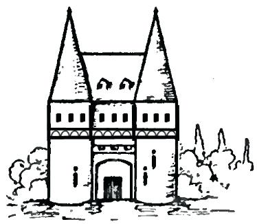 374x326 How To Draw Castles