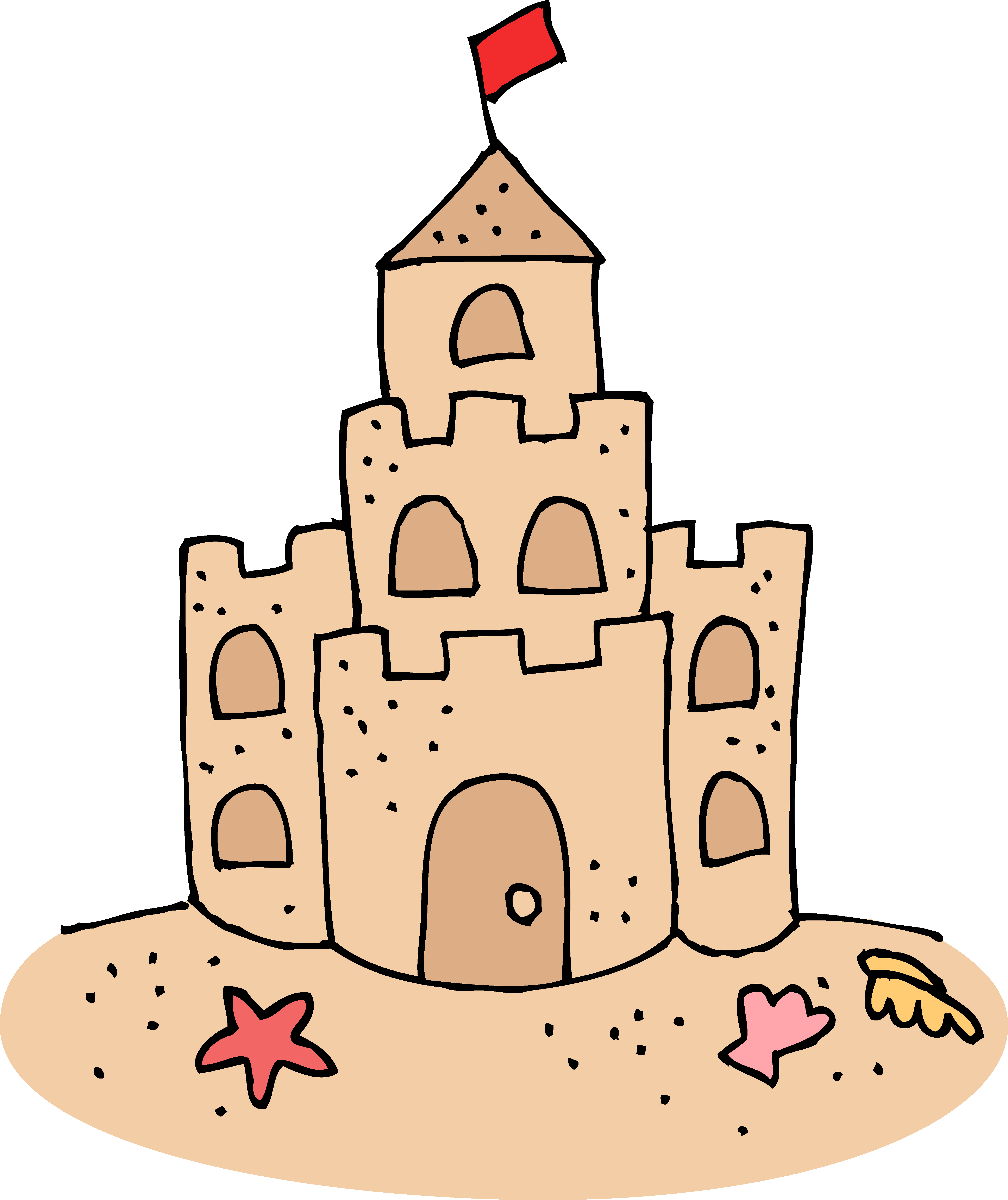 4879x5808 Castles Drawing Simple Frames Illustrations Hd Images