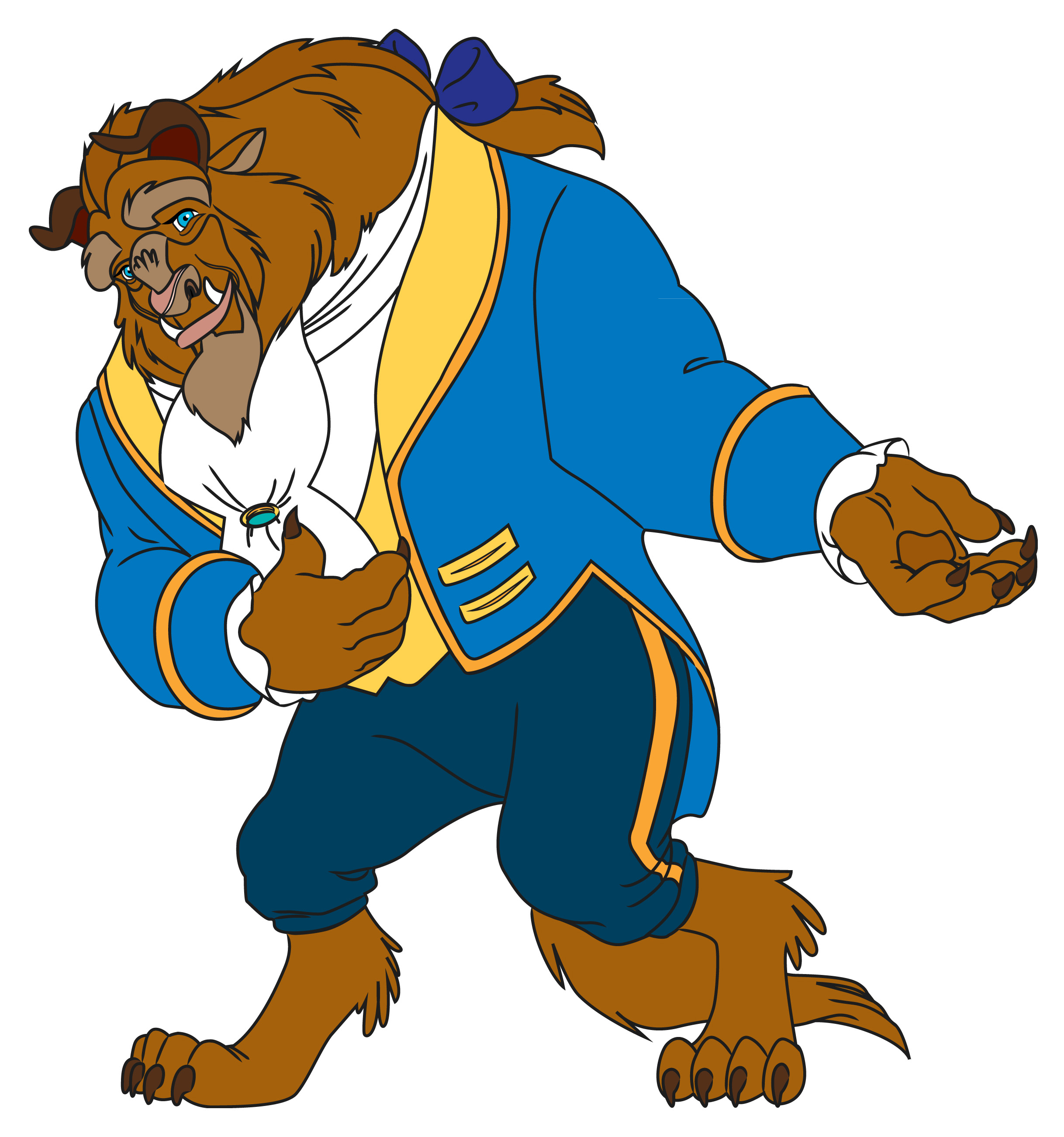 2436x2603 Beauty And The Beast Drawing Ideas Color Step Cartoon