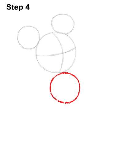 386x500 How To Draw Mickey Mouse