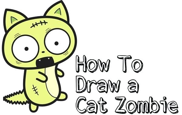 600x378 How To Draw An Easy Cat