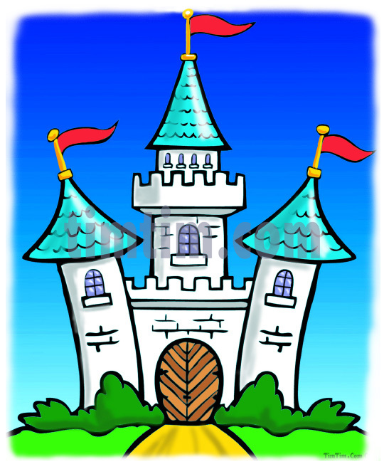 540x659 Collection Of 'cartoon Castle Drawing' Download More Than