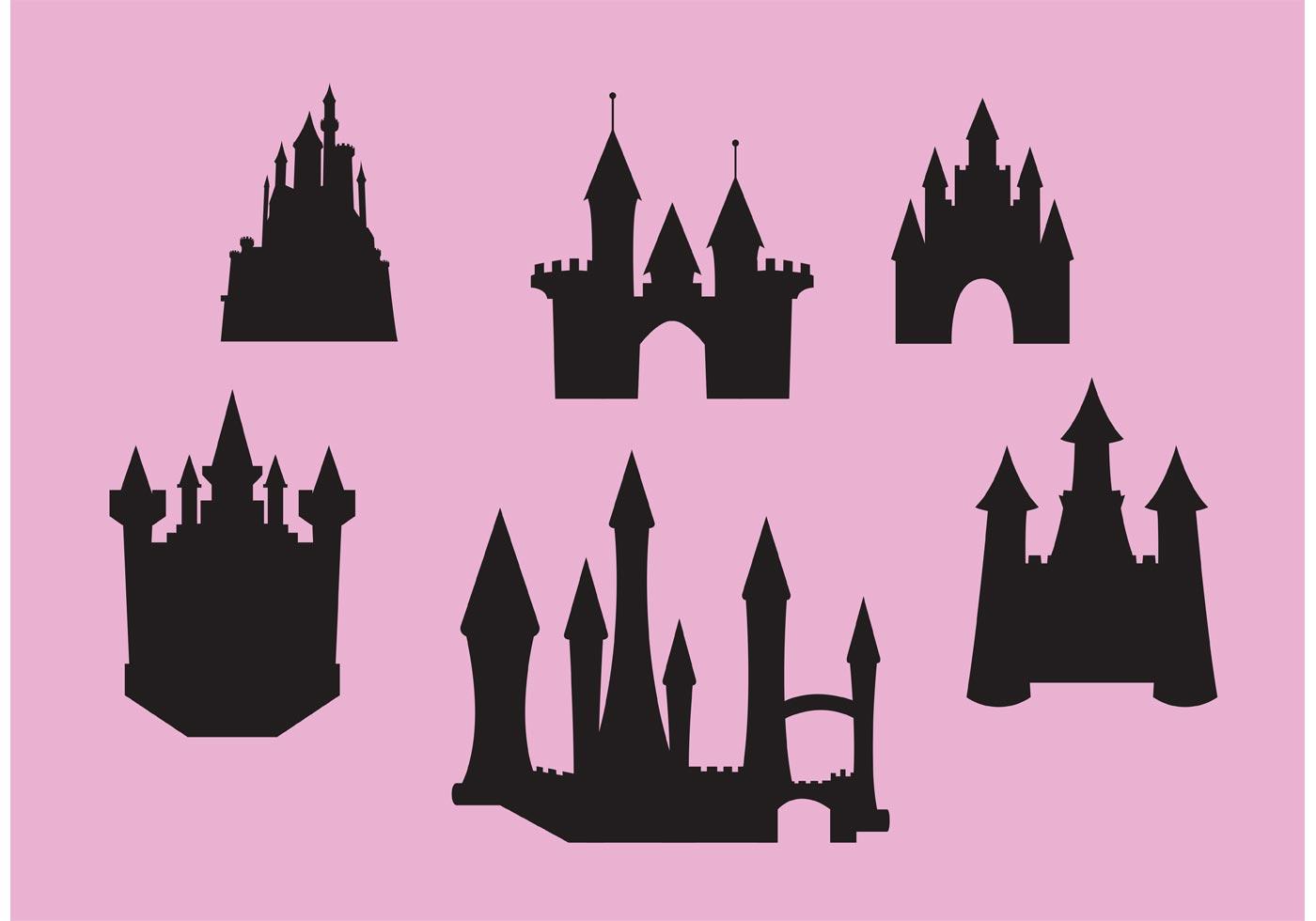 1400x980 Disney Castle Free Vector Art