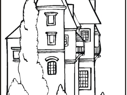 440x330 Disney Castle Coloring Pages, New Disney Coloring Pages