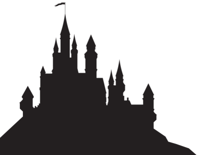 400x312 Huge Collection Of 'disney Castle Silhouette Png' Download More