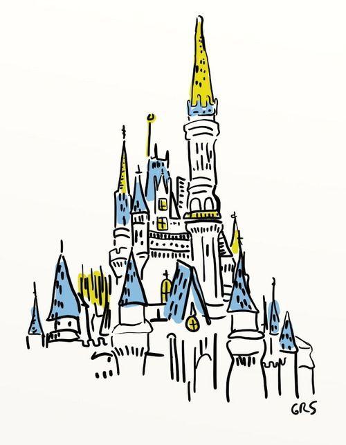 500x643 Cinderella Castle Disney Princesas Disney, Fondos De Pantalla