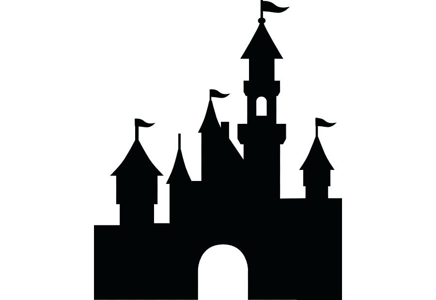 900x620 cinderella castle clipart castle drawing panda disney castle