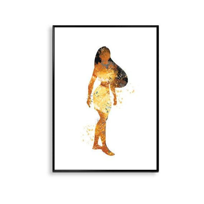 794x794 pocahontas print art disney princess disney princess etsy
