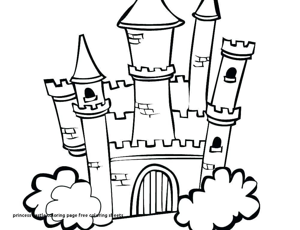1000x768 Disney Princess Castle Drawing Princess Castle Drawing At Com