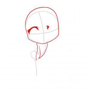 302x302 How To Draw Chibi Rapunzel, Tangled, Step