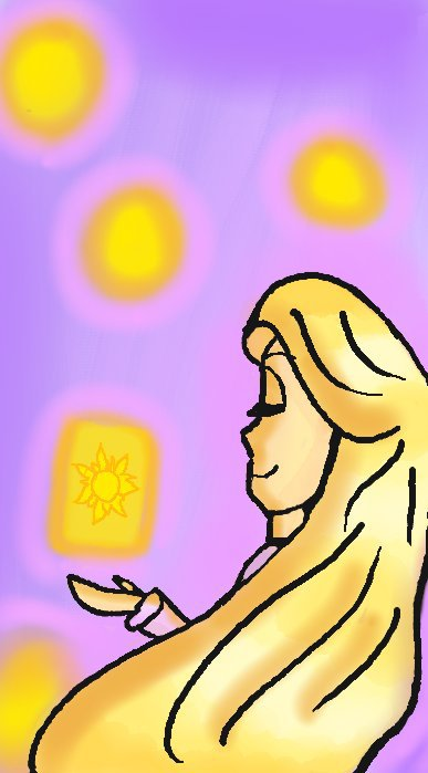 387x699 Rapunzel Drawing Disney Amino