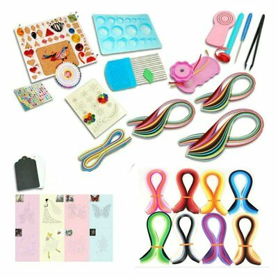 JETEHO Pack of 12 Craft DIY Slotted Paper Quilling Tools Paper Craft Tool Quilling Paper Pen DIY Scrapbooking Drawings Paper Craft Tool