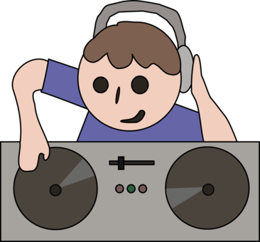 366x340 disc jockey dj mixer music cactus cc0