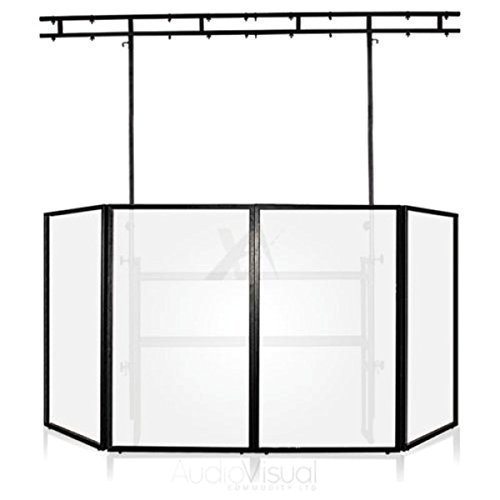 500x500 Gorilla Dj Disco Deck Booth Stand Inc Disco Screen Package Amazon