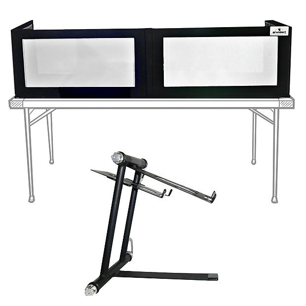 620x620 Grundorf Gs Black Lycra Led Dj Facade Frontboard + Reverb