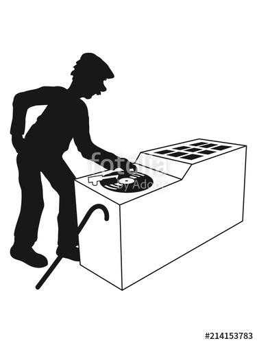 375x500 Party Musik Auflegen Dj Club Disko Platte Vinyl Mischpult Musik
