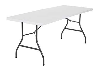 425x281 Foot Long Center Plastic Folding Dj Banquet Party