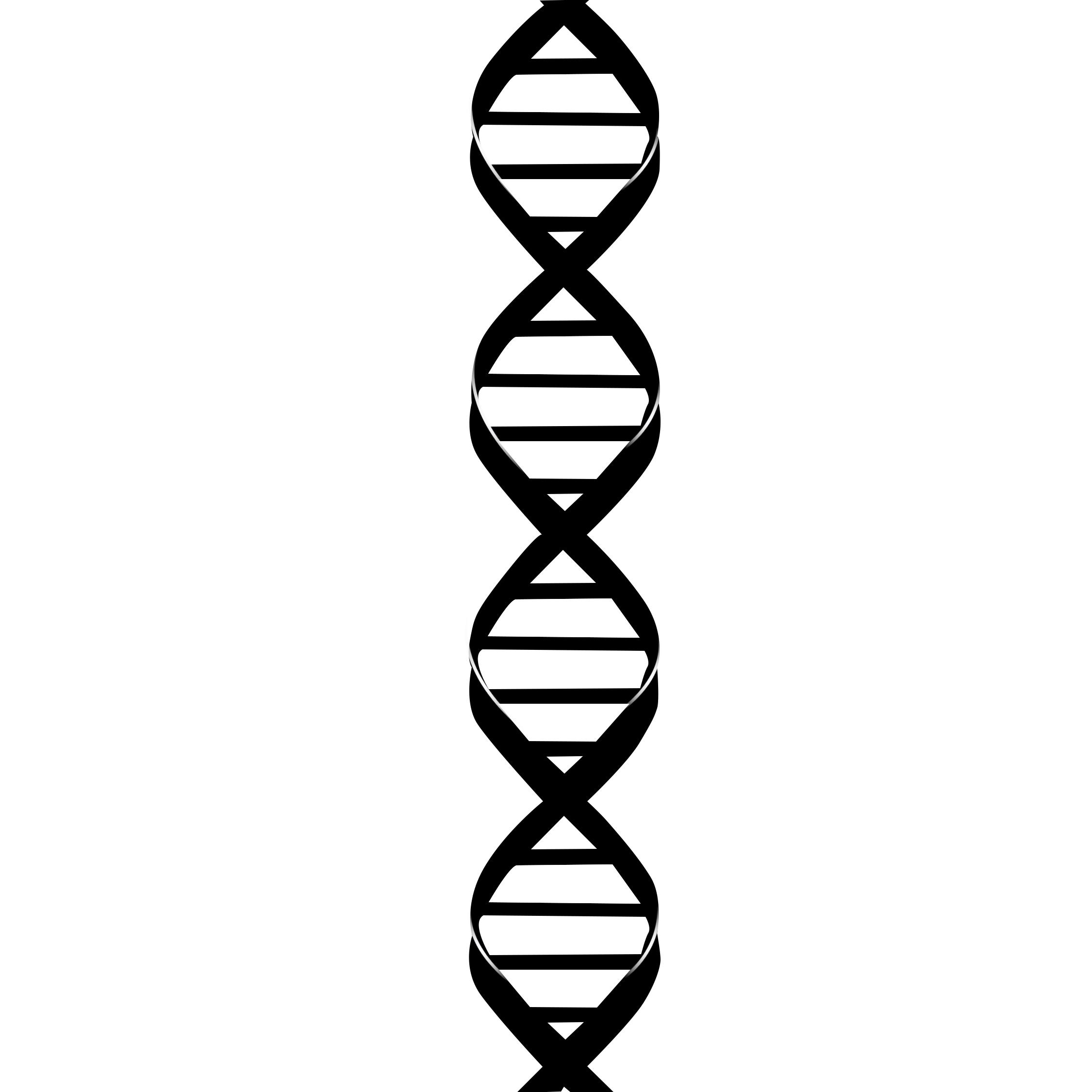 2250x2250 molecule clipart dna molecule