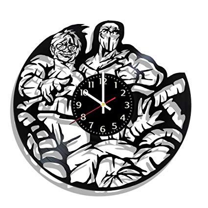 425x425 original vinyl wall clock doc ock made from real vinyl