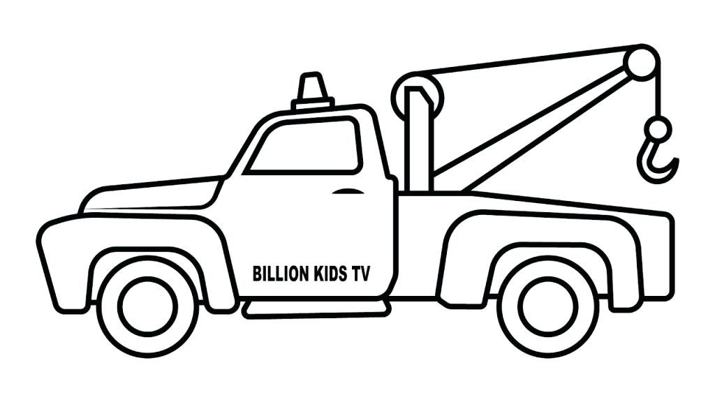 1024x576 tow truck coloring pages tow truck coloring pages cars and trucks