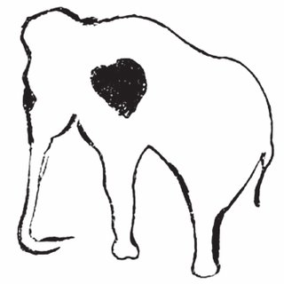 320x320 Cave Drawing Of A Mammoth's Heart