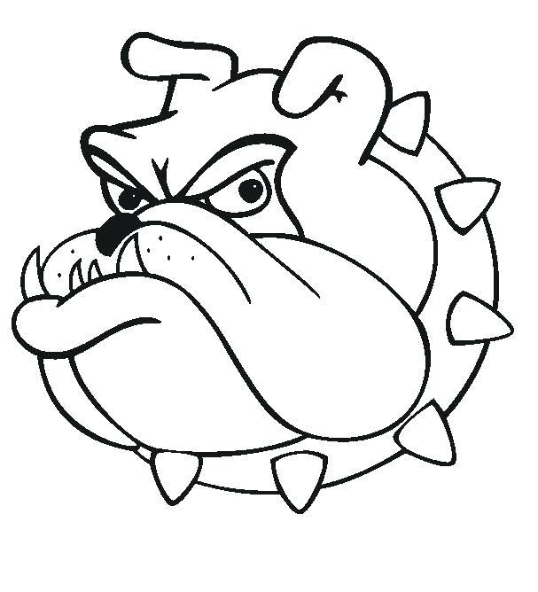 607x668 Bull Dog Drawings English Bulldog Drawing Easy