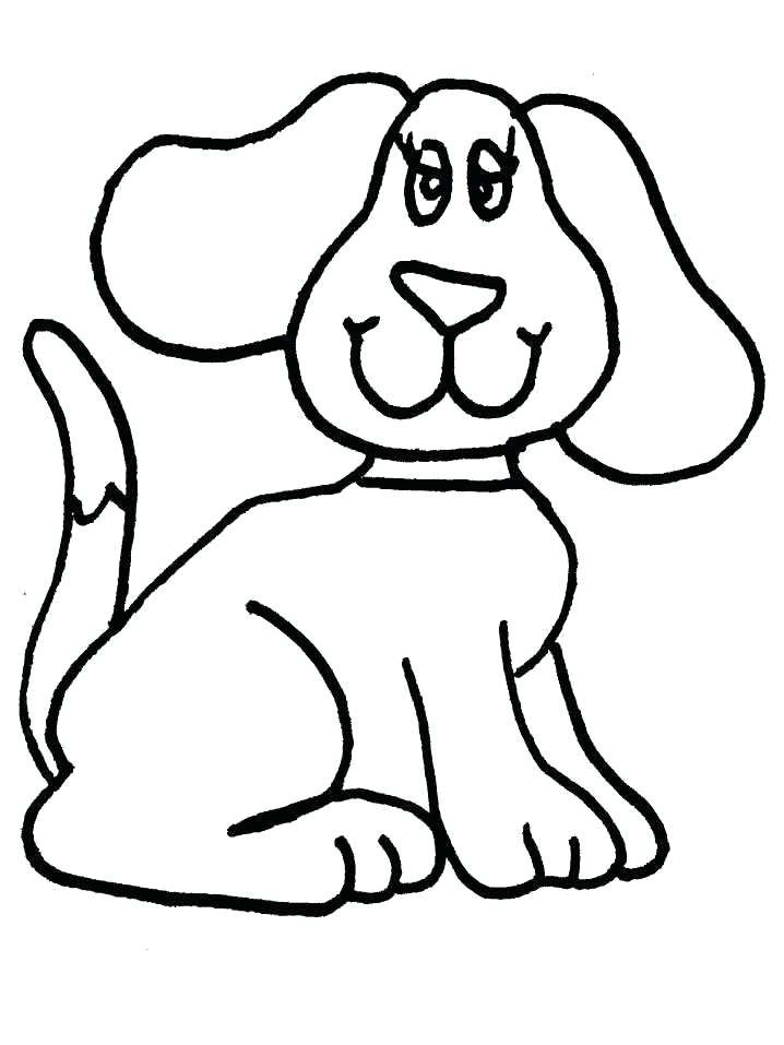 Dog Drawing Template | Free download on ClipArtMag