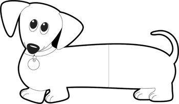 350x203 Dog Clip Art Dachshund Dog