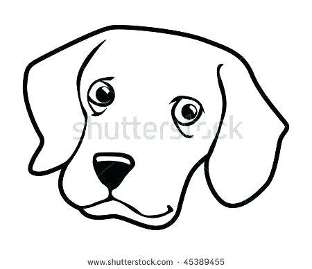 450x388 dog face outline dog boxer dog face outline