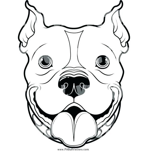 618x630 dog face outline dog face bulldog face outline