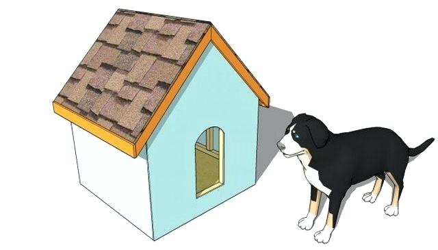 640x365 dog house drawing a drawing of a dog outside of a dog house dog