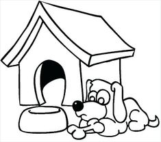 235x208 Best Dog House Coloring