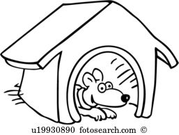 257x194 Pet House Clipart