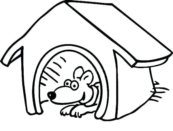 600x454 Dog House Coloring