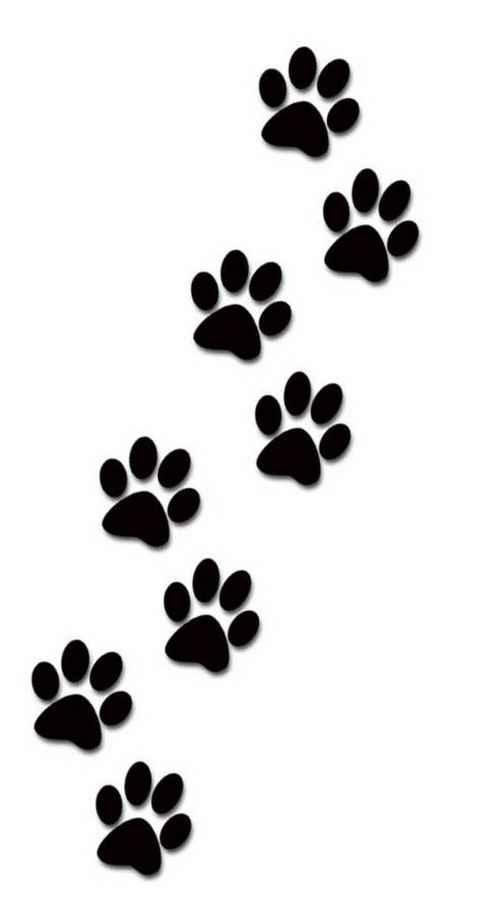 948x1816 Excelent Pinsamantha Littner On Tats Dogs, Dog Paw Drawing, Cats