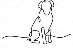 236x157 A Dog Paw Drawing Of For Beginners And Cat Images Bone
