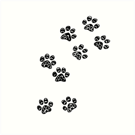 550x550 Image Result For Dog Paw Print Drawing Tattoos Dog Paw Drawing