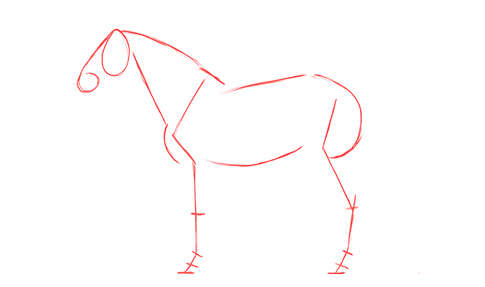 700x415 How To Draw And Animate Horses From Trot To Gallup