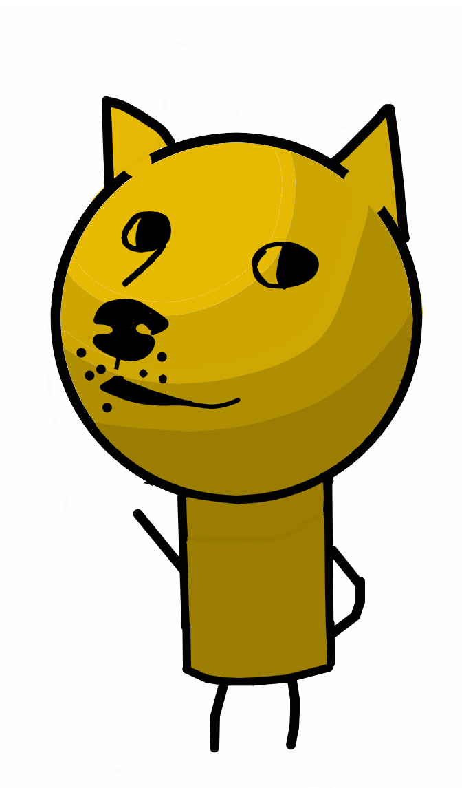 672x1145 i just spent half an hour making a doge drawing for no reason
