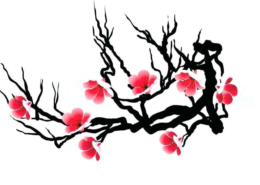 900x640 Japanese Cherry Blossom Sketch Title