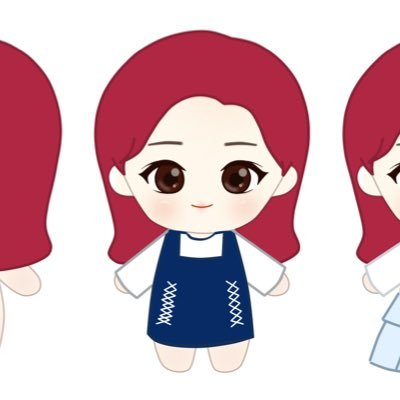 400x400 Black Pink Doll On Twitter Redrosie Sample
