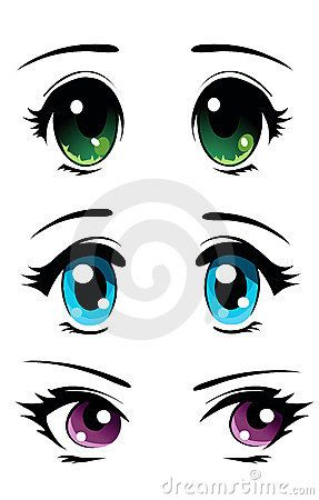 287x450 Manga Eyes Set Diy Projects In Manga Eyes, Anime Eyes