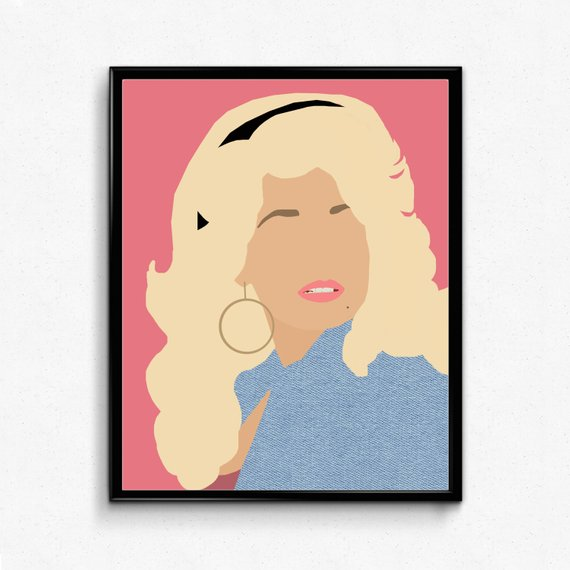 570x570 dolly parton poster minimalist music poster feminist print etsy